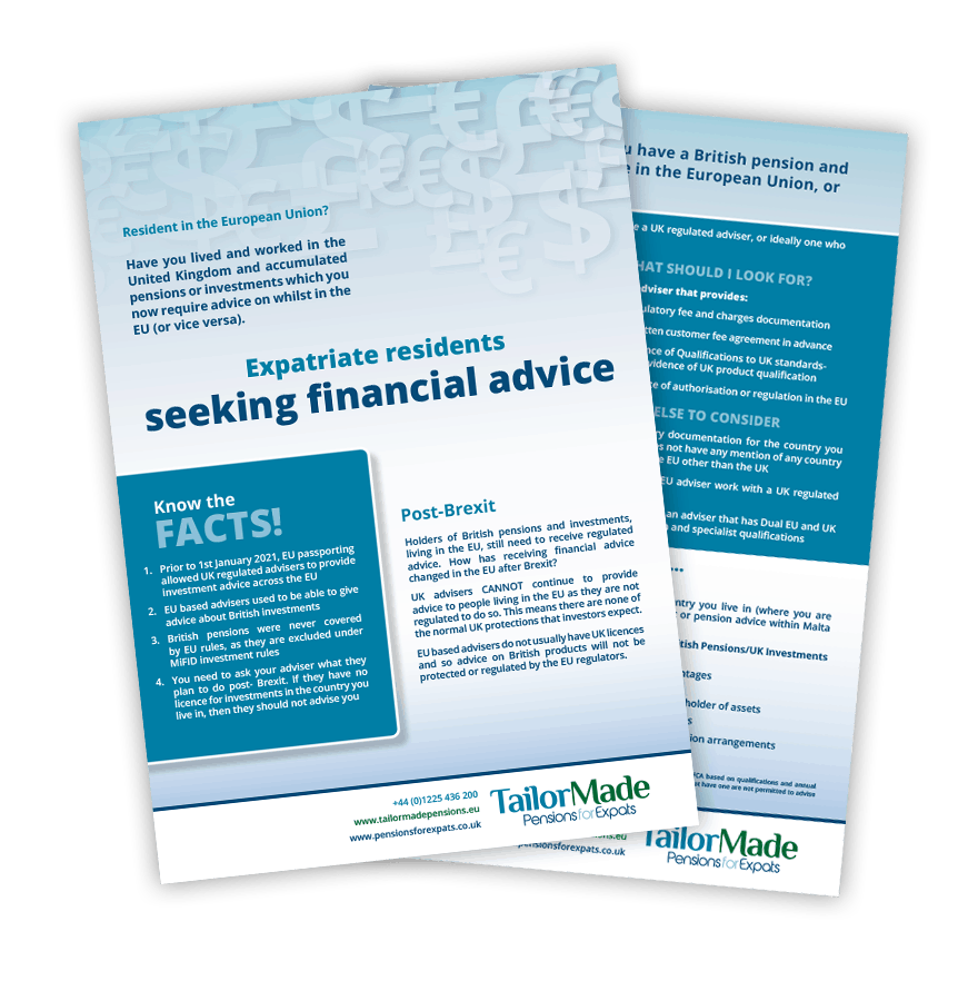Post-Brexit Advice Brochure